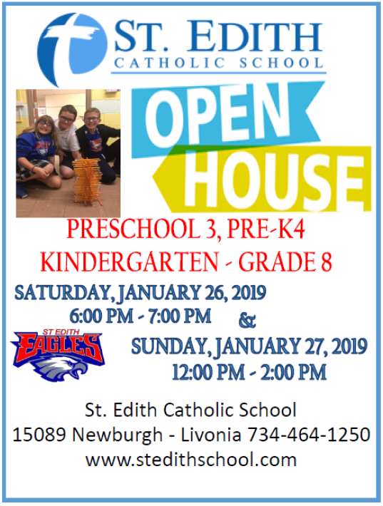 St. Edith Catholic School Open House